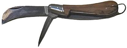 Bandmesser klappbar mit Vorstecher
